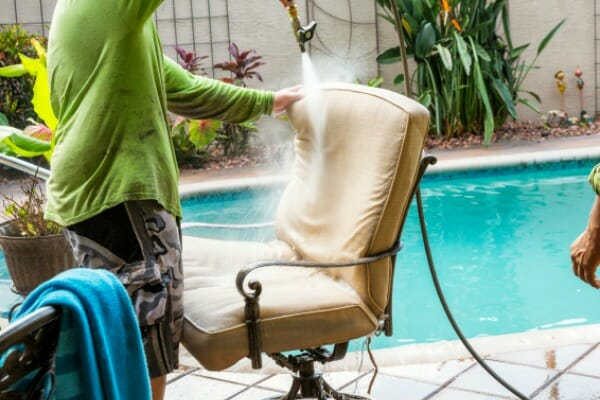 how to clean outdoor patio cushions ginny s tips