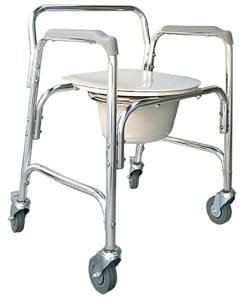 Cadeira de Rodas para higienização Praxis Modelo A-CM202W