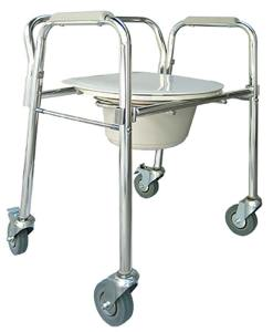 Cadeira de rodas para Higienização Praxis Modelo ACMF302W