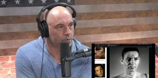"Joe Rogan talks hockey fights on episode 1460 of his podcast ""The Joe Rogan Experience"""