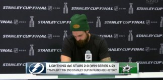 Dallas Stars' captain Jamie Benn gives heartbreaking interview after losing
