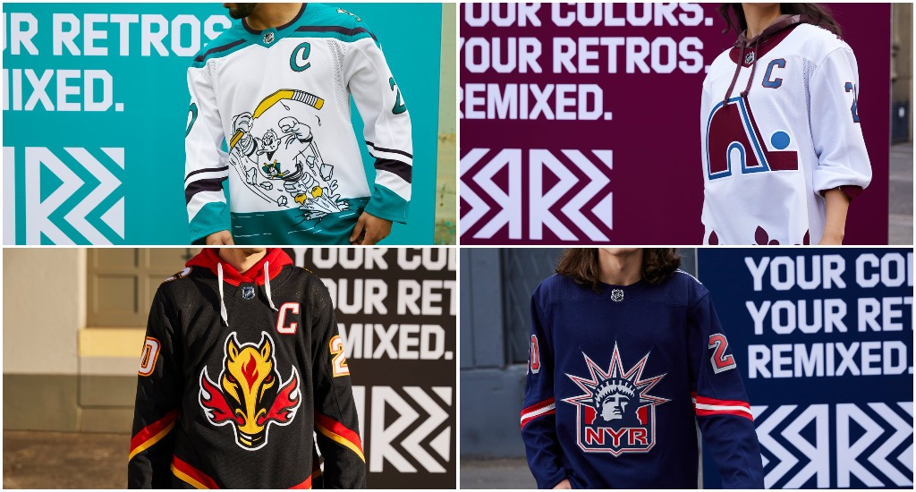 Adidas Unveils Reverse Retro Style Jerseys For All 31 Nhl Teams Gino Hard