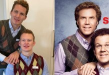 Matthew Tkachuk and Brady Tkachuk dress up Step Brothers
