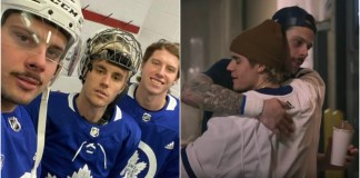 Justin Bieber release Hold On Toronto Maple Leafs music video