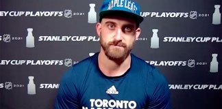 Nick Foligno explains why he fought Corey Perry