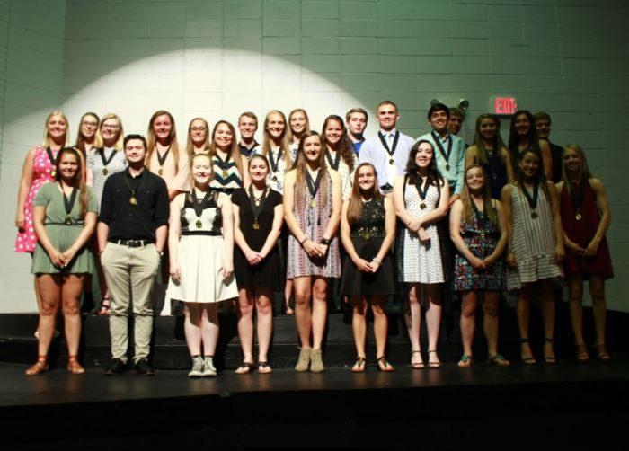 District Recognizes Top 15 Percent
