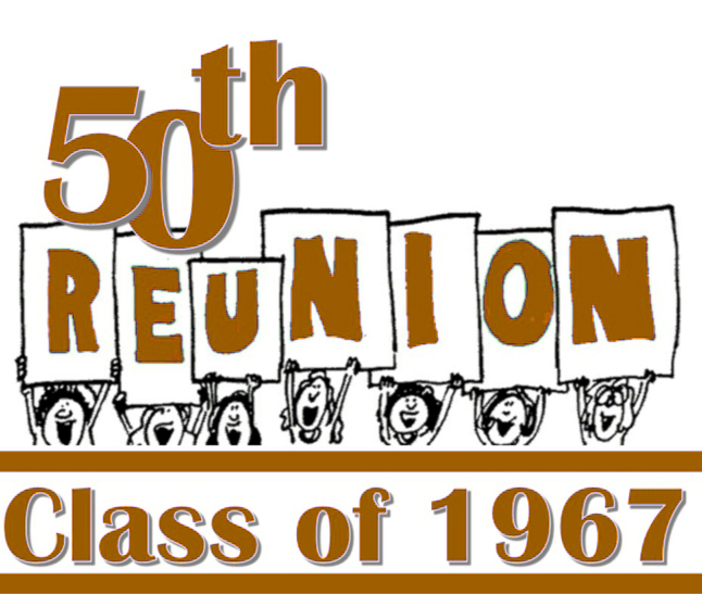 1967 50th Class Reunion Dates Set