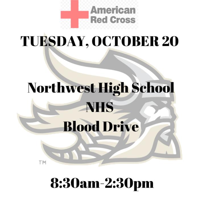 Northwest High School Blood Drive