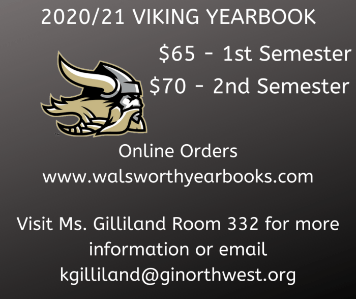 2020-2021 YEARBOOKS FOR SALE
