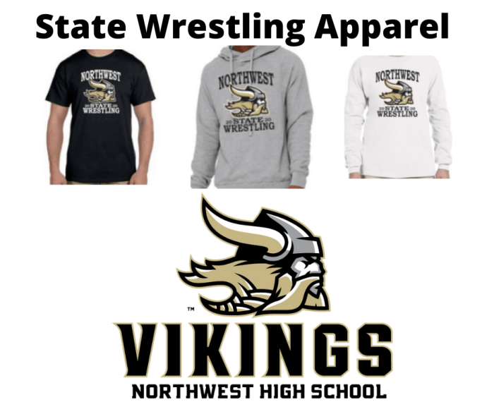 State Wrestling Apparel