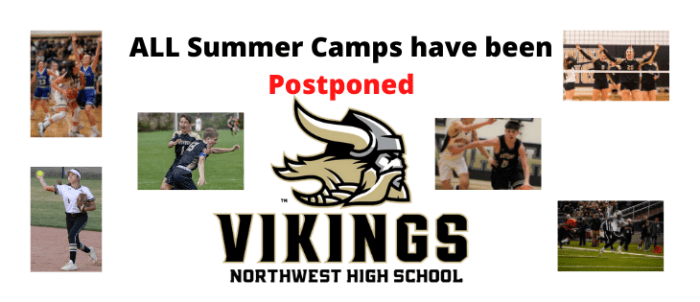 ALL SUMMER CAMPS POSTPONED