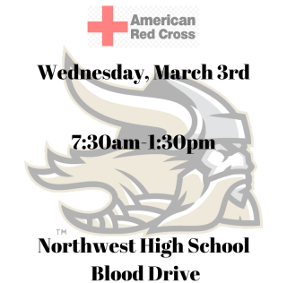 Northwest High School Blood Drive