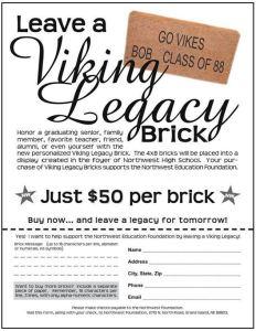 Leave A Legacy Brick Order Form