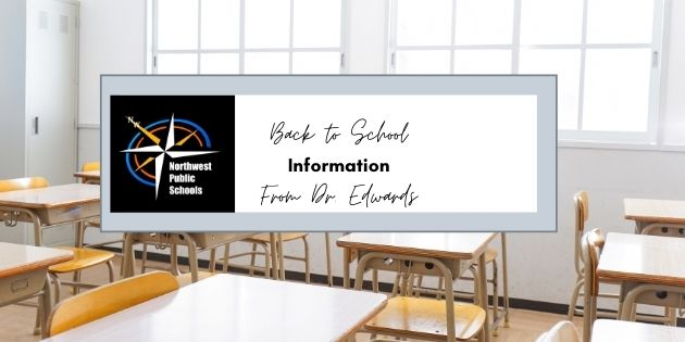 2021-2022 Back to School Information from Dr. Edwards