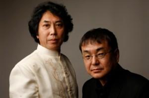 Davashu Honda(左), Yoshio J. Maki(右)/ Copyright © 2014Naoto Ohkawa