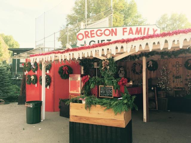 オレゴンファミリーのクリスマスツリー