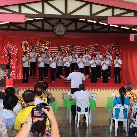 フィリピンの子供達への音楽&スポーツ教育振興