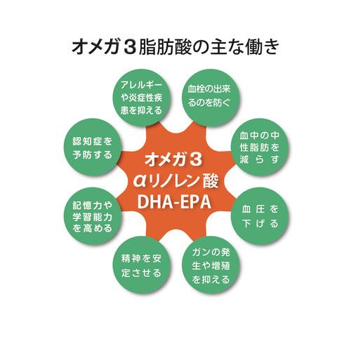 オメガ3脂肪酸の主な働き