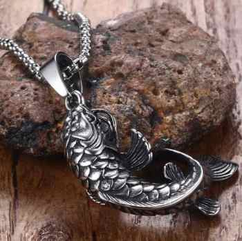 koi fish pendants