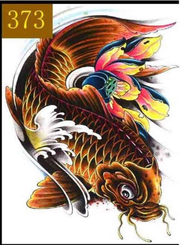 Koi Fish Tattoo Meaning Color Direction And More You Need To Know 2018