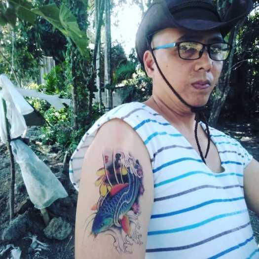 blue koi fish tattoo meaning