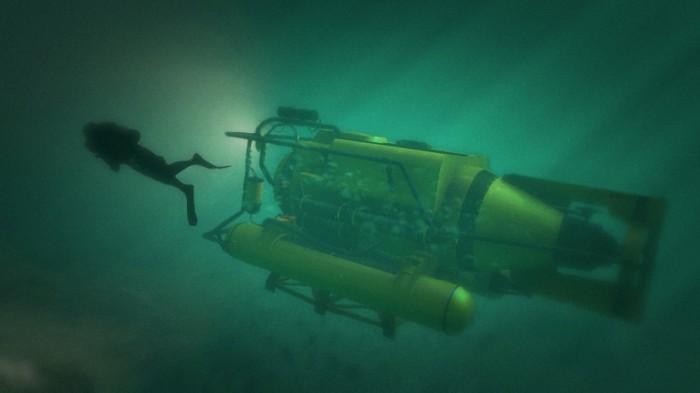 In GTA V sarà anche possibile espellere sonde anali gialle sott'acqua.