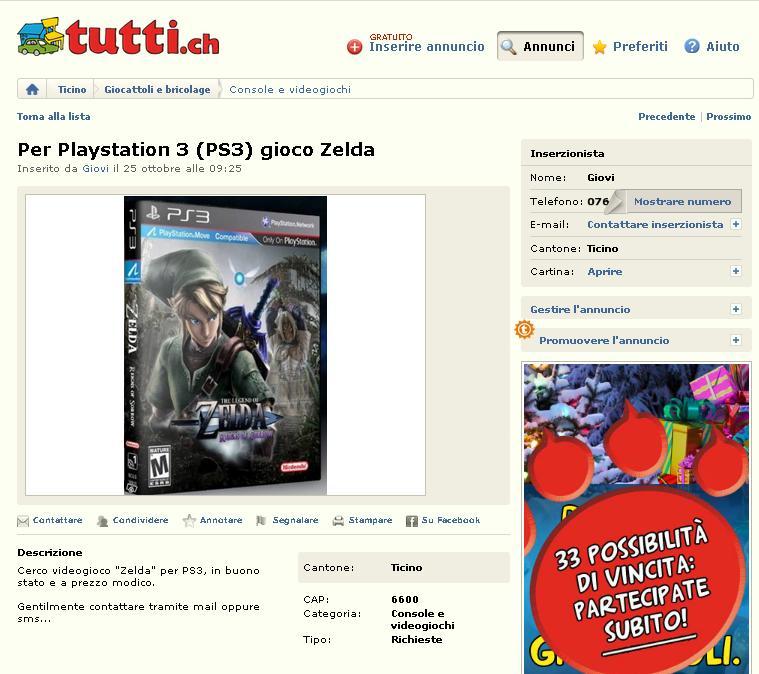 Zelda per PS3!!!11!1