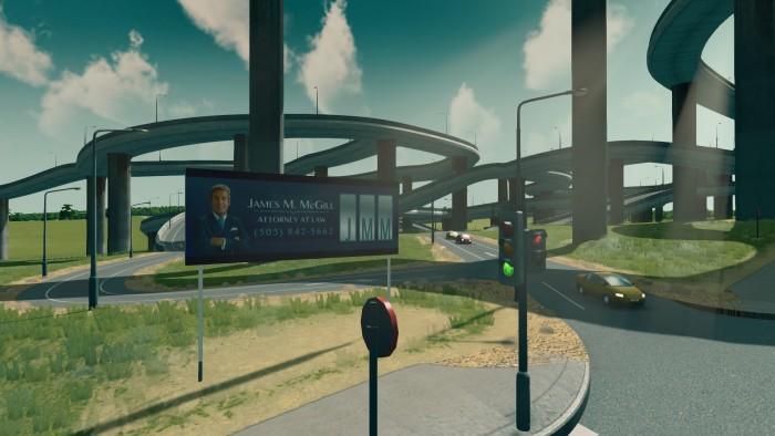 Fairview, uscita autostradale