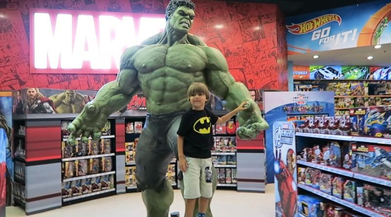 Hulk Giocattolo Gigante