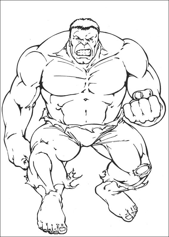 Hulk da Colorare 2