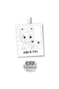 Cry babies da colorare Fibi e Fifi
