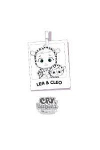 Cry babies da colorare Lea e Cleo