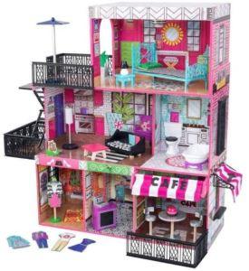 migliori case delle bambole loft con boutique prezzo