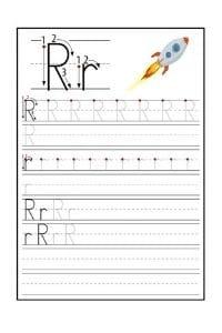 Scheda Pregrafismo lettera R
