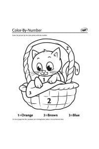 disegni da colorare per bambini di 7 anni gatto