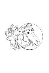 disegni da colorare per bambini di 9 anni cavallo