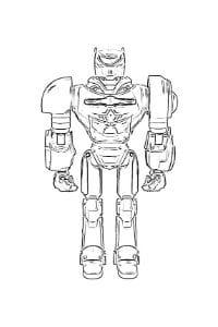 disegni da colorare robozuna centurion