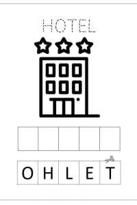 Schede pregrafismo alfabeto lettera H