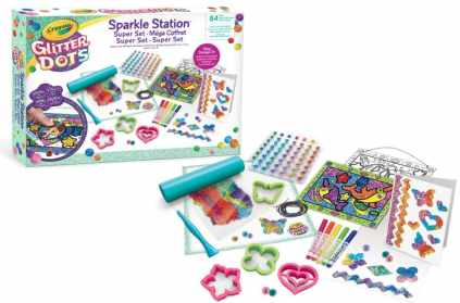 sparkle station crayola