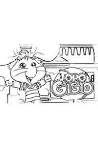 disegni da colorare e stampare topo gigio nuova serie