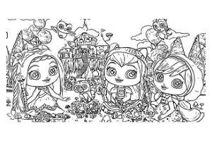 Little Charmer disegni da colorare e stampare gratis
