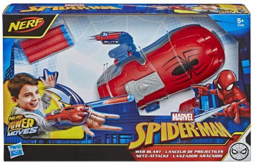 guanto spider power lancia dardi blaster prezzo