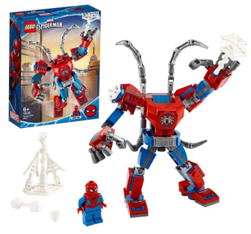 lego spiderman mech prezzo