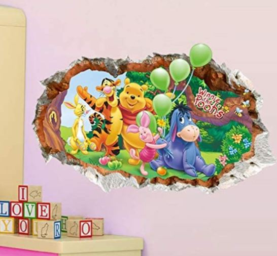 stickers murali cameretta disney prezzi