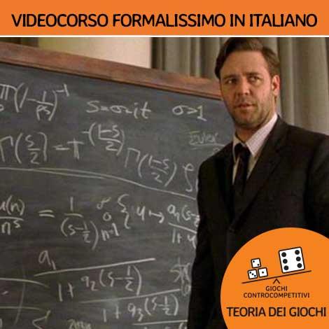 Videocorso formalissimo in italiano di Fioravante Patrone
