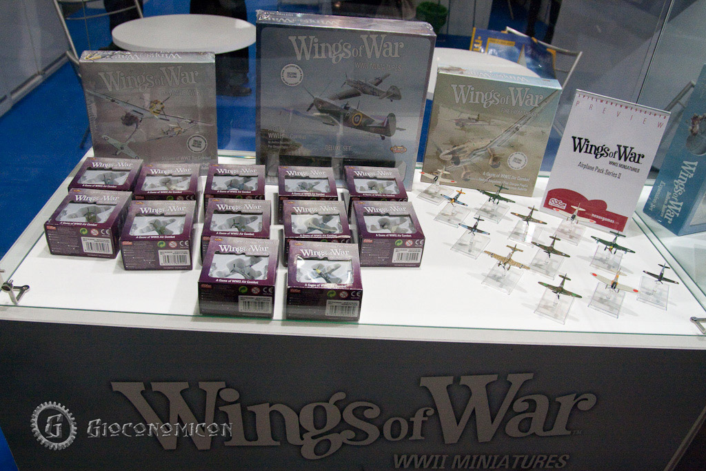 New Wings of War Miniature planes for the WW2 game
