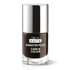 My Nails Keratin Plus Care & Color 12 ROUGE NOIR