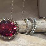 anello rubellite collezione Samarcanda Gioielli