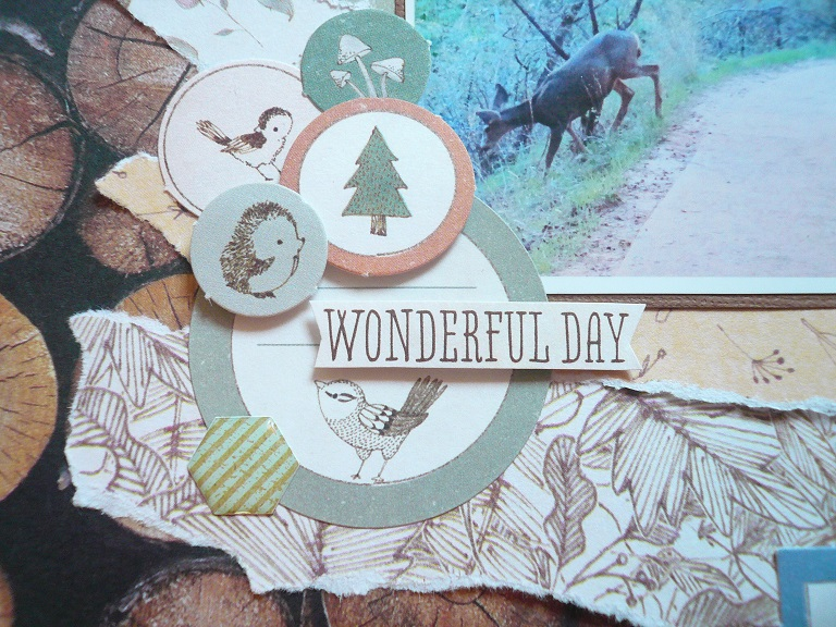 Giorgia Rossini for Docrafts OH HELLO DEER FRIEND layout 1