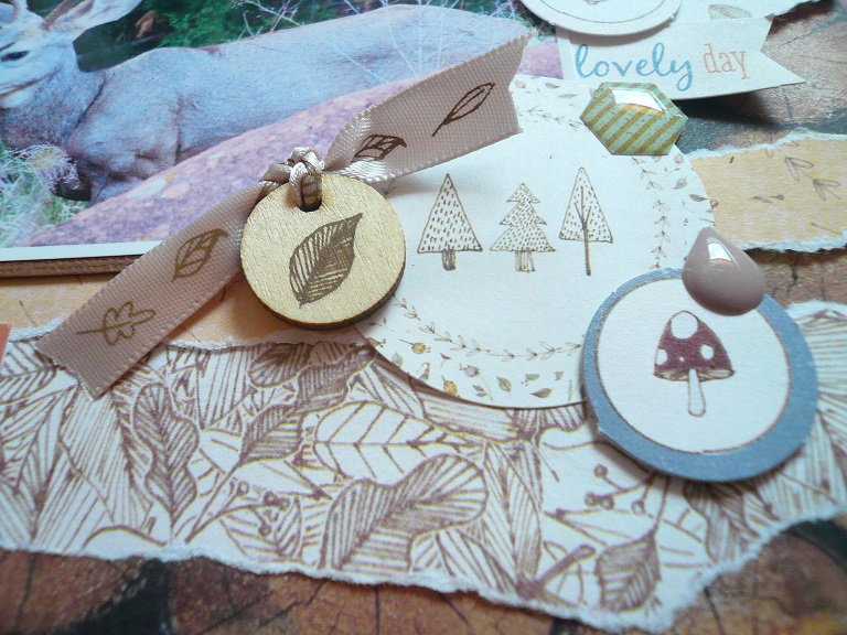 Giorgia Rossini for Docrafts OH HELLO DEER FRIEND layout 4